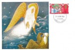 1969 Set of 3 Cameo Maxicards, Bethlehem Landeilo Carms FDI
