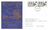 1969 Notable Anniversaries, 50th Anniversary 1st Atlantic Flight, Thames Covers FDC, Edinburgh FDI
