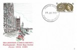 1965 700th Anniversary of Parliament (Phosphor) FDC, Evesham Worcs FDI