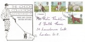 1979 Dogs, The London Collections FDC, London WC FDI
