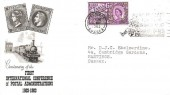 1963 Paris Postal Conference, BPA / PTS Illustrated FDC, We're Ready for Your Invasion at Hastings Slogan