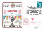 1976, Liverpool League Champions & UEFA Cup Winners Kick off in Europe, Dawn Football Cover, League Champions & UEFA Cup Winners Liverpool H/S