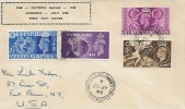 1948 Olympic Games, Display FDC, Nuttall Lane Ramsbottom Manchester cds