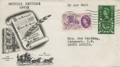 1960, General Letter Office, BPA / PTS FDC, Norwich Norfolk Cancel