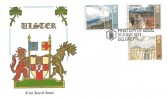 1971 Ulster Paintings, Thames FDC, First Day of Issue Belfast H/S