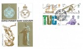 1968 British Anniversaries, GPO FDC, First Day of Issue Hendon London NW4 H/S