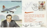 1980 Concorde Inter.Tattoo Greenham Common signed Brian Trubshaw & Peter Baker
