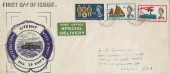 1963 Lifeboat Conference, Special Delivery Hand Illustrated FDC, London Chief Office EC1 cds