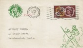 1961 CEPT, Scouts Stamp Collectors Club FDC, 2d Stamp only, Greenwich SE10 Cancel