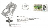 1964 Geographical Congress, Illustrated FDC, 2½d Stamp only, First Day of Issue Greenwich SE10 Slogan