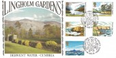 1981 National Trust, Hawkwood Official FDC, Lingholm Gardens Open Day Keswick Cumbria H/S