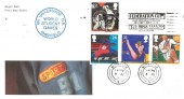 1991 Sports, Royal Mail FDC, Federation Cup Nottingham Tennis Centre July 21-28 Slogan, with World Student Games Sheffield Cachet