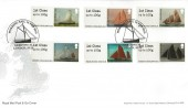 2015 Working Sail, Post & Go Stamps, Royal Mail FDC, Working Sail Greenwich London SE10 H/S