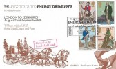 1979 Sir Rowland Hill, Skirrid Official FDC, The Skirrid Energy Drive 1979 London to Edinburgh in Aid of Barnardos London SW1 H/S