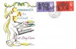 1965 Commonwealth Arts Festival, Connoisseur FDC, Folkestone Kent cds