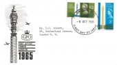1965 Post Office Tower, BPA & PTS FDC, London WC FDI