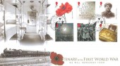 2014 The Great War, Buckingham Cover R254 Official  FDC, The Great War Care for the Wounded Dover Kent H/S