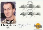 1999 Timekeepers Miniature Sheet Westminster Official. Signed by Angus Deayton