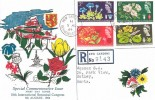 1964 Botanical Congress, Registered Rembrandt FDC, Kew Gardens Richmond Surrey cds
