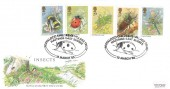 1985 British Inserts, Royal Mail FDC, Pestalozzi Children's Village Trust Hastings East Sussex H/S