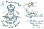 1968 British Anniversaries, RAG Bruggen FDC, 1s RAF Stamp only, Field Post Office 986 cds