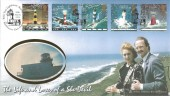 1998 Lighthouses, Benham L55 Official FDC, Belle Tout Lighthouse Beachy Head Eastbourne East Sussex H/S