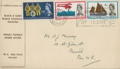 1963 Lifeboat Conference, Norfolk & Suffolk Hospital Contributors Association FDC, First Day of Issue Norwich Slogan