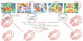 1989 Greetings Stamps, Illustrated FDC, Brighton East Sussex FDI