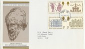 1973 Inigo Jones on Post Office FDC London WC FDI