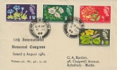 1964 Botanical Congress, Aylesbury Grammar School Philatelic Society FDC, Aylesbury Bucks. cds