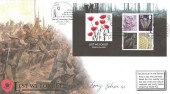 2006, Lest We Forget, Buckingham Covers Official FDC, London SW1 Cenotaph H/S, Signed by Barry Johnson GC
