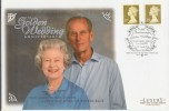 1997 Golden Wedding Golden Definitives Westminster Official FDC