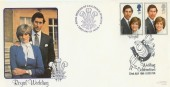1981 Royal Wedding Bradbury LFDC 11 Official FDC