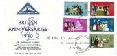 1970 General Anniversaries, North Herts. Stamp Club FDC, Stevenage Herts. FDI
