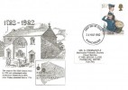1982 Youth Organisations, Methodist Philatelic Society FDC, 15½p stamp only, Manchester FDI