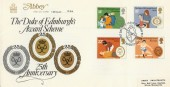1981, Duke of Edinburgh Awards, Abbey FDC, First Day of Issue London W2 H/S Abbey FDC