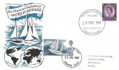 1967 Sir Francis Chichester, Illustrated FDC, Doubled Dated Plymouth Devon Welcome Sir Francis Chichester 28th May 1967 & Brighton Sussex FDI