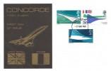 1969 Concorde, Illustrated Cover, London WC FDI
