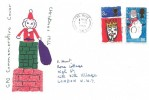 1966 Christmas, GPO FDC, Ship Early Through the Port of London Slogan The Hyde NW9
