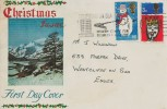 1966 Christmas, Connoisseur FDC, Southend on Sea Modern Centre for Business & Industry Slogan