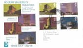 1971 Universities, Cameo FDC, Welsh First Day of Issue Cardiff H/S