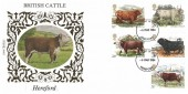 1984 British Cattle, Benham Hereford FDC, Hereford FDI