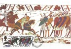 1966 Battle of Hastings, Set of 8 Individual Cameo Maxi Cards, used on the front, Hastings FDI