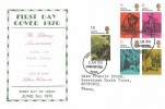 1970 Literary Anniversaries, Display FDC, Chelmsford Essex FDI