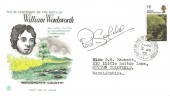 1970 Literary Anniversaries, Stuart FDC,1/6d William Wordsworth Stamp only, Sutton Coldfield Warwickshire cds, Signed by Actor Paul Scofield