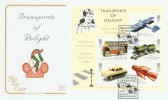 2003 Transports of Delight (Boys' Toys) Miniature Sheet on Cotswold FDC