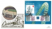 2007 Wembley Stadium, Benham 359 Gold Official  FDC, Legendary Venue Wembley Middlesex H/S