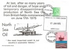 1978 Energy, North Sea Oil, Doubled dated FDC, 9p Oil stamp, Basildon Essex FDI