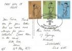 1973 County Cricket  Centenary, Marylebone Cricket Club Card, Headquarters Surrey County Cricket Club Kennington SE11 H/S