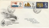 1963 Lifeboat Conference Non phosphor Blackwater cds RARE FDC